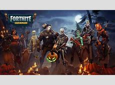 Download 2560x1440 Fortnite Cauchemars, Pumpkins, Artwork