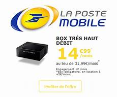 la poste mobile promo box tv plus maxibonsplans 174