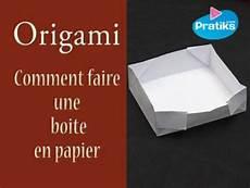 origami comment faire une bo 238 te en origami pratiks