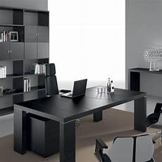 5 Bureaux Modernes Aux Finitions Noires Amm Mobilier