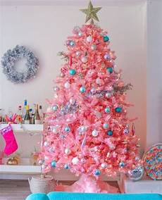 Pink Trees Color Trends In Decorating Trees