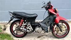 Modif Revo 100cc 2007 by Foto Modifikasi Motor Revo 100cc Terkeren Dan Terbaru