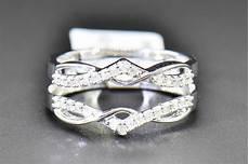 details about 1 4 ct white diamond enhancer engagement