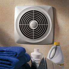 Kitchen Utility Fan by Broan Chain Operated Ventilation Fan Plastic White Square
