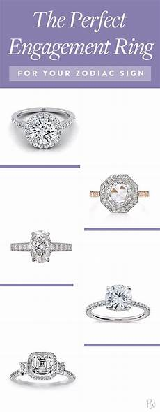 engagement rings zodiac signs the best engagement rings based on your zodiac sign