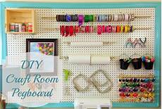 a little bolt of life diy craft room pegboard