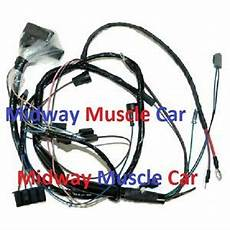 Engine Wiring Harness V8 68 Pontiac Gto Lemans Tempest 400