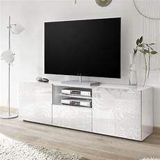 meuble tv 180 cm meuble tv avec led meuble tele blanc laque
