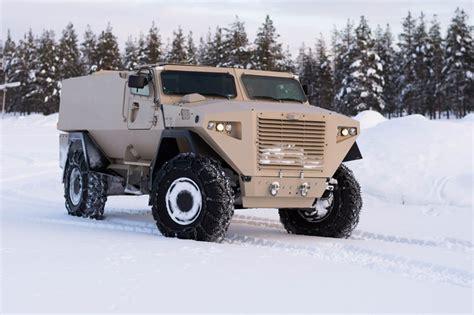 Sisu Armoured Vehicle