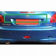 baguette de coffre pour peugeot 206 cc bleue slugauto