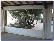 Rideau Plastique Transparent Pour Terrasse D 233 Cor