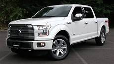 ford f 150 2015 ford f 150 platinum fx4 start up test drive and in