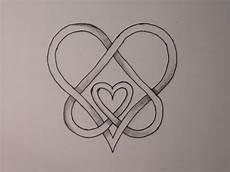 keltischer knoten 49 vater mutter herzen design