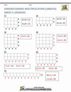 multiplication worksheets with arrays 4662 beginning multiplication worksheets