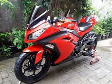 250 Karbu Modif Simple by Modif Kawasaki 250 Fi Bergaya Simple Dan Elegan