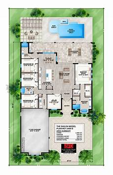 modern four bedroom house plans south florida designs coastal contemporary 4 bedroom house