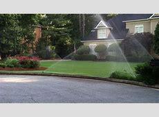 Sprinkler Systems Gallery   Atlanta Sod Company
