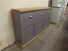 Schmales Sideboard Flur - shabby painted large 3 door narrow sideboard f b brassica