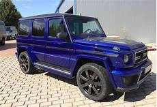 gsc mercedes g class wide in blue