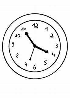 Uhr Malvorlagen Zum Ausdrucken Uhr 3 Ausmalbild Malvorlage Gemischt