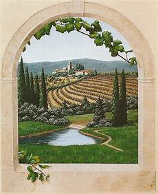 Tuscany Using My Grapevine And Arched Window