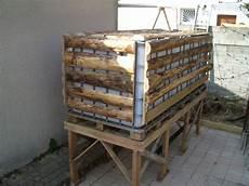 livraison palette eau citerne de recuperation d eau 1000l avec palette bois