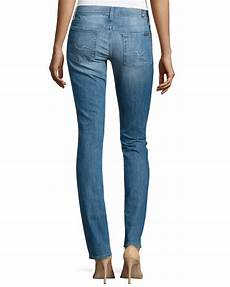 lyst 7 for all mankind leg in blue
