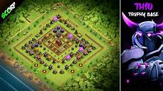 coc update 2018 th10 best trophy base coc th10 base 2018 update