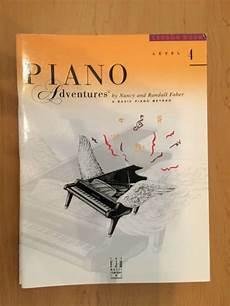 Faber Piano Adventures Lesson Book Level 4 Reverb