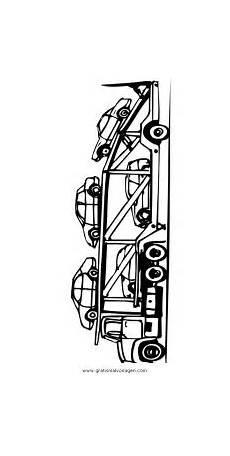 Ausmalbilder Polizei Lastwagen Autotransporter Gratis Malvorlage In Lastwagen
