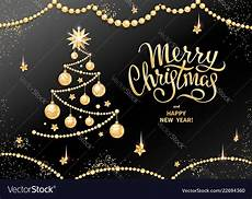 merry christmas decoration 2019 royalty free vector image
