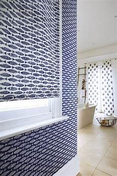 Bathroom Blinds Fish Pattern by Samaki A Textured Fish Motif Taken From A Simple Lino Cut