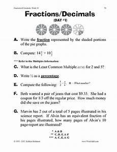 math worksheets for grade 4 fractions and decimals 7442 teaching fractions worksheets 3rd 4th 5th grade