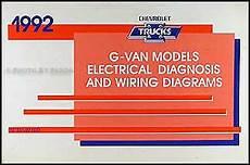 motor repair manual 1995 chevrolet sportvan g30 windshield wipe control 1992 chevy g van wiring diagram manual chevrolet g10 g20 g30 sportvan beauville ebay