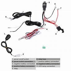 new high quality universal12v40a car fog light wiring