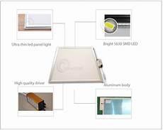 Led Panel 40x40 - 40x40 led panel rectangular frameless flat led panel light