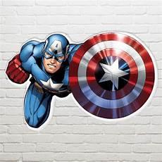 marvel captain america shield wall art 61 94cm partyrama co uk