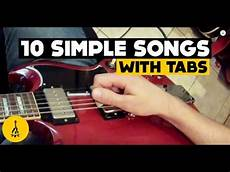 Easy Electric Guitar Songs For Beginners 10 Simple