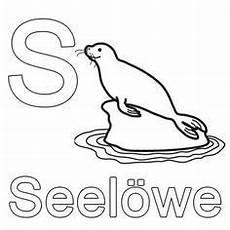 Malvorlagen Buchstaben Jung Buchstaben Lernen Kostenlose Malvorlage S Wie Seel 246 We