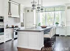 traditional white kitchen painted with sherwin williams paints interiors by color