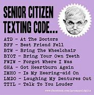 Image result for Senior Citizen Funny Tag Quotes
