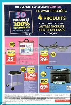 solde carte auchan catalogue auchan du 7 au 14 janvier soldes 50 produits 100 rembours 233 s