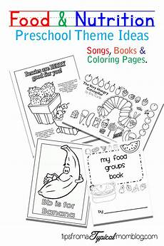 food lesson worksheets 19352 food and nutrition theme preschool songs and printables tips from a typical