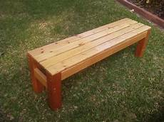 Diy A Simple Wooden Bench