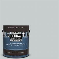 behr premium plus ultra 1 gal 720e 2 light gray satin enamel exterior paint 985001