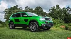 Suv Vergleich 2017 - tuner transforms vw atlas into lifted 350 hp performance suv