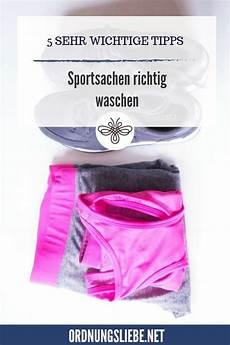 Sportsachen Richtig Waschen 5 Wichtige Tipps Richtig