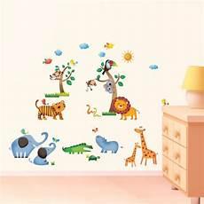 wandsticker baby junge safari wall stickers co uk
