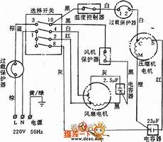 Delica Aircon Wiring Diagram by Baohua Kc 17 Window Air Conditioner Circuit Electrical