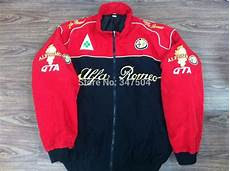 new alfa romeo car racing jacket coat free shipping in